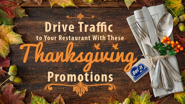 How to Drive Traffic to Your Restaurant on Thanksgiving