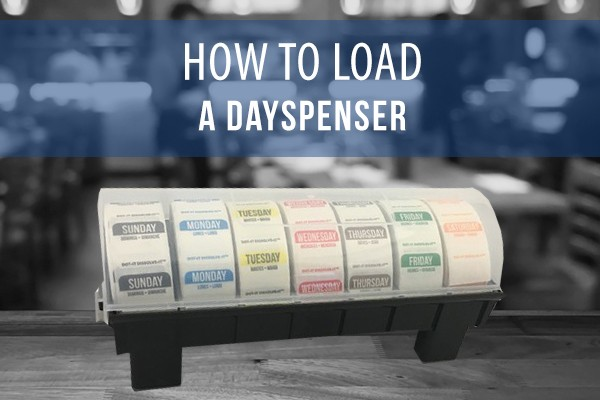 How to Load a DaySpenser® Label Dispenser