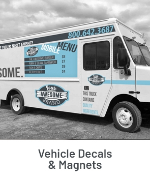 Vehicle Decals & Magnets Fulfillment Example