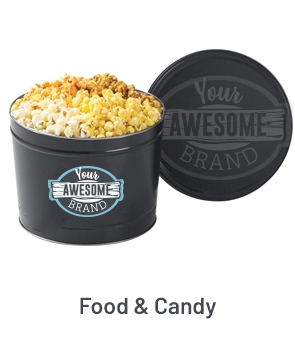 Food & Candy Promo Product Fulfillment Example